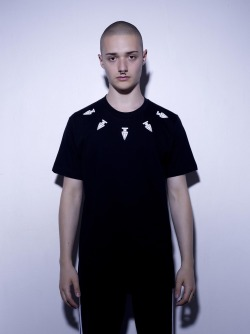 ASSK tshirt COLLIER in Black