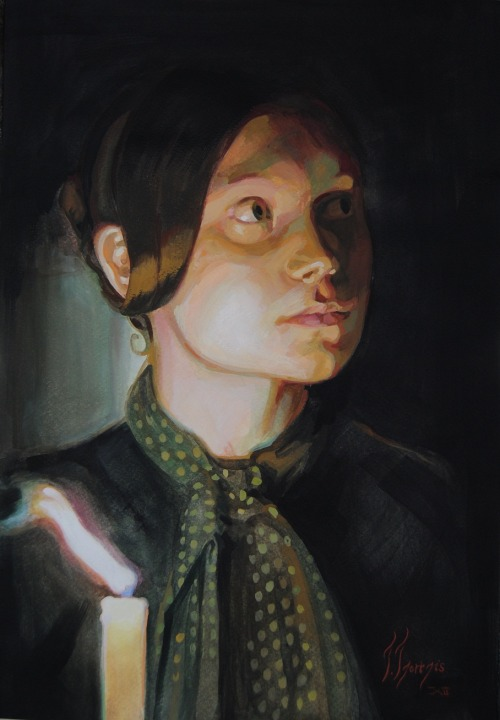 Jane Eyre by Thanasis Tzortzis
