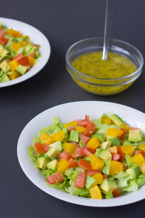 Mozambique Avocado Salad