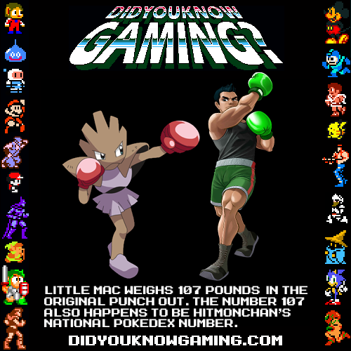 Pokemon and Punch-out.  Submitted by Grant via Youtube.