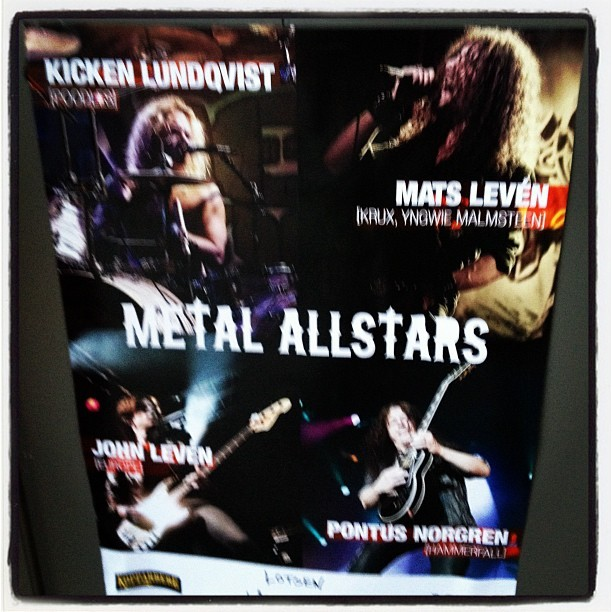 Metall allstars :) (Taken with Instagram at Skeppsbron 11)