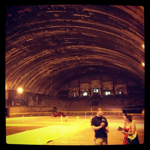 Exploring Uline Arena - where the Beatles first played in the US (Taken with Instagram at Uline Arena)