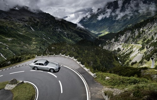 Chasing the Phantom DB5, beautifully shot in Switzerland (by Tim Wallace, via fabforgottennobility.)