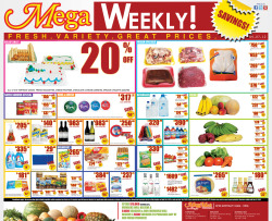 MegaMart's new weekly ads. This will be done every week. 2 ads in the food section of the Jamaica Gleaner.  The aim is to maintain an everyday low price guarantee for customers. So far we have been doing pretty well. MegaMart now offers weekly discounts in the store and customers seem happy with it. Not to mention the compliments we receive on our print ads. The team I work with all did their part to make sure this happens. It's been a LOT of hard work and late hours. I know for a fact they work really hard to get the lowest price possible on products to keep these ads going. I am proud to be a part of them. Come on by and see the changes taking place. The future looks very bright for one of Jamaica's most progressive stores.
