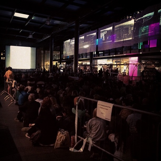 Nosferatu screening at Spitalfields #EEFF @eastendfilmfest (Taken with Instagram)