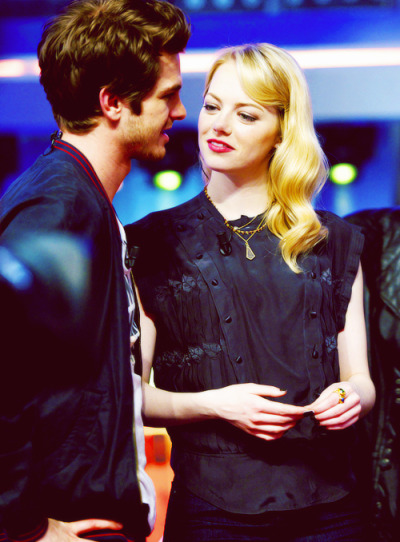 Andrew & Emma on a local tv show - Madrid, July 5th