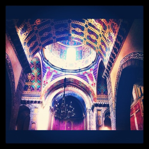 Inside Armenian church #churches #lviv #ukraine #arches (Taken with Instagram at Вірменський собор)