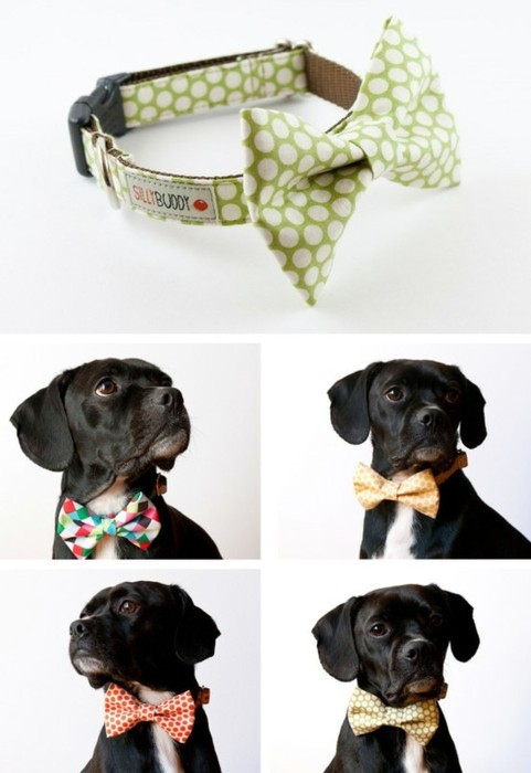 handmade dog bow ties