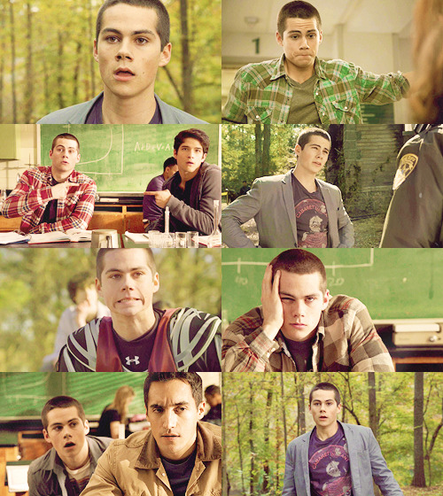 stiles stilinski in green {requested by anon}