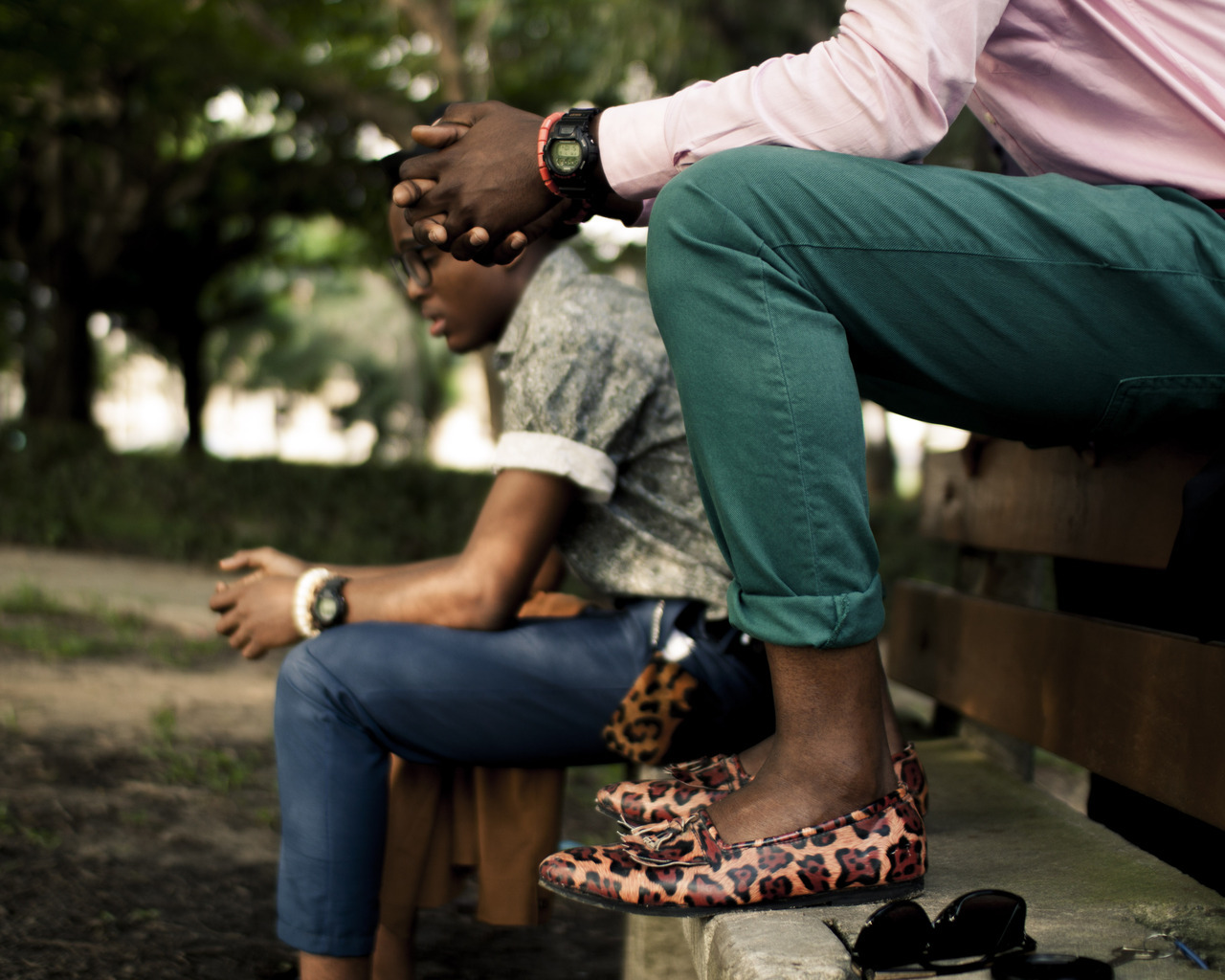 temiadebayo:  Print shoes..
