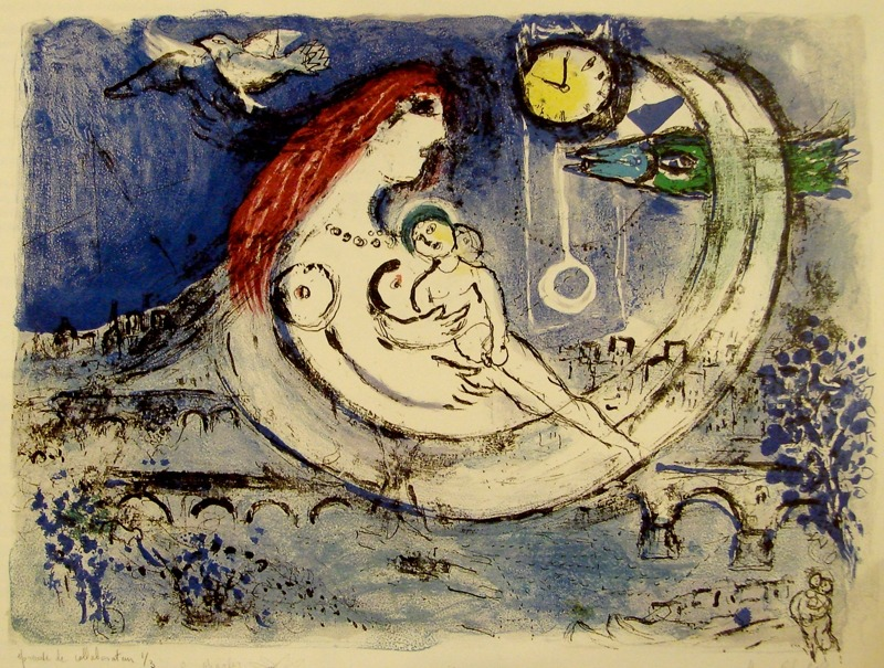 """Love and fantasy, go hand in hand.""  -Marc Chagall"