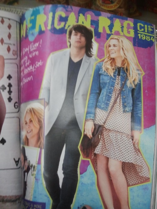 Jordan in seventeen  so cute