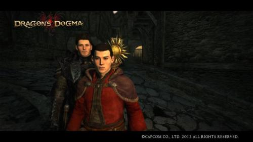 I sterek'd all over Dragon's Dogma. You have no clue how hard the faces were to make. BUTIAMPLEASED