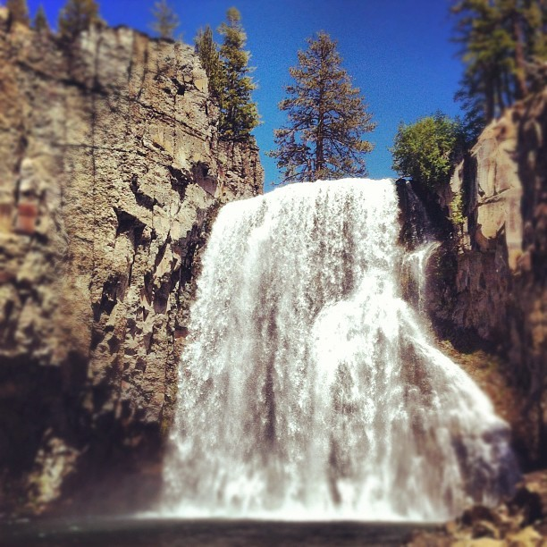 Rainbow Falls (Taken with Instagram)