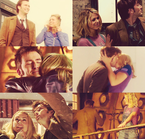 favorite tv relationships—The Doctor and Rose Tyler