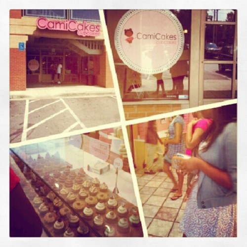Cami Cakes with the girls! (Taken with Instagram)