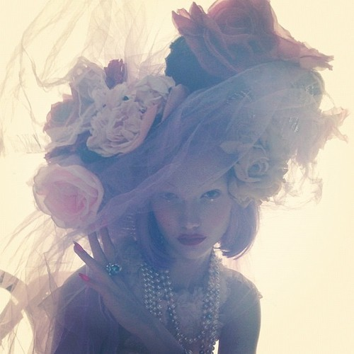 Karlie Kloss by Nick Knight for W magazine