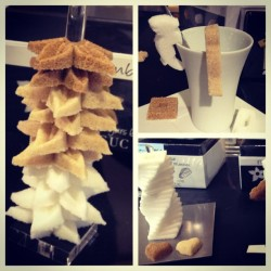 #sweet sugar cube details. A little #styling for your coffee - #bonmarche #paris  (Taken with Instagram)
