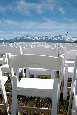 Snow Capped wedding in Telluride