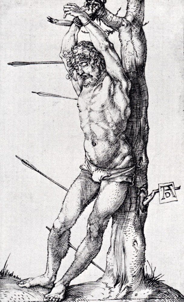 hexavalentchromium:  St. Sebastian at the tree A. Durer 1501