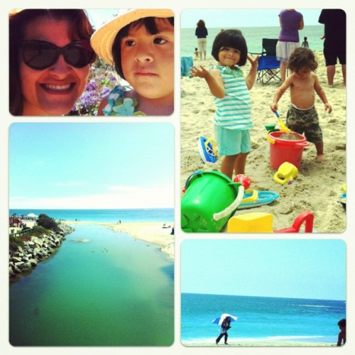 fun in the sun (Taken with Instagram at Aliso beach park)