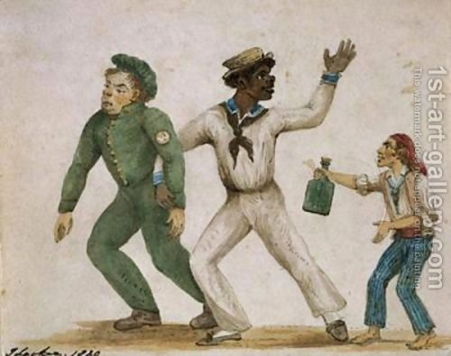 """ Three Drunken Sailors — 1820 """