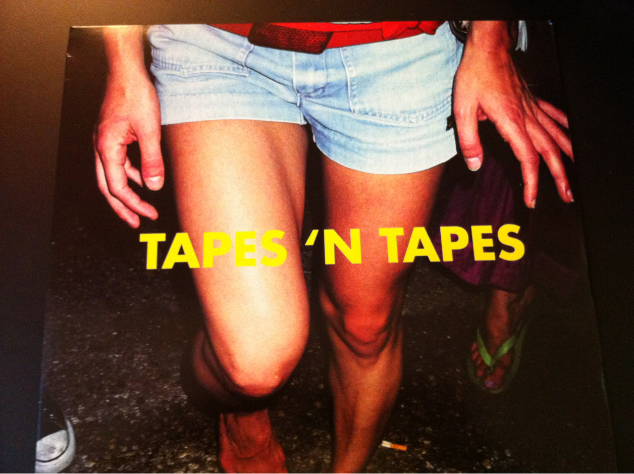 Cover art to the Tapes 'N Tapes vinyl release of Outside