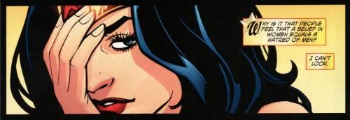 gailsimone:  birdie-told-me:  If only we knew, Diana.  Dammit, Diana. HOW CAN ANYONE IGNORE YOUR AWESOMENESS.