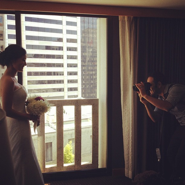 Gorgeous bride today @daldevents  @josevilla  (Taken with Instagram)