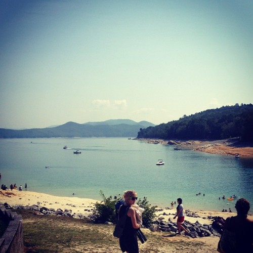 Lake day! (Taken with Instagram at lake jocassee )