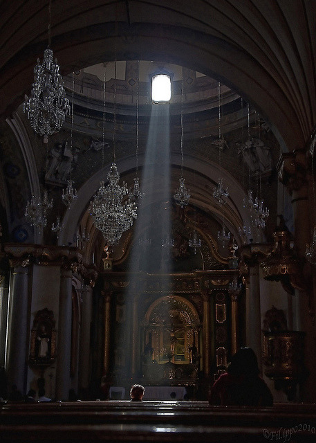 travelingcolors:  The light, Santo Domingo Church in Lima | Peru (by Fil.ippo)