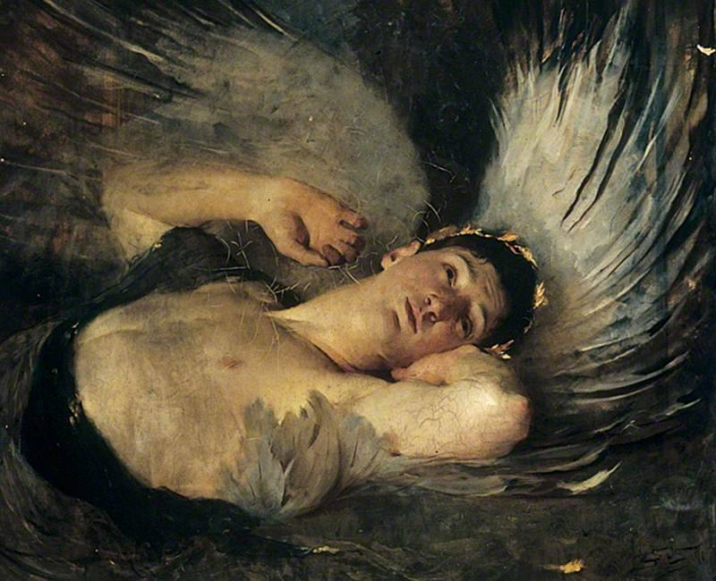 colourthysoul:  Solomon Joseph Solomon - The Awakening (1891)