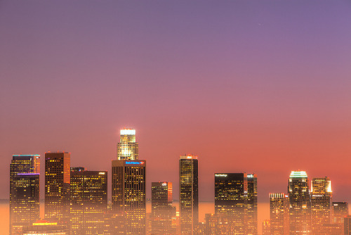 newclearfusion:  twilight skyline by Eric 5D Mark III on Flickr.