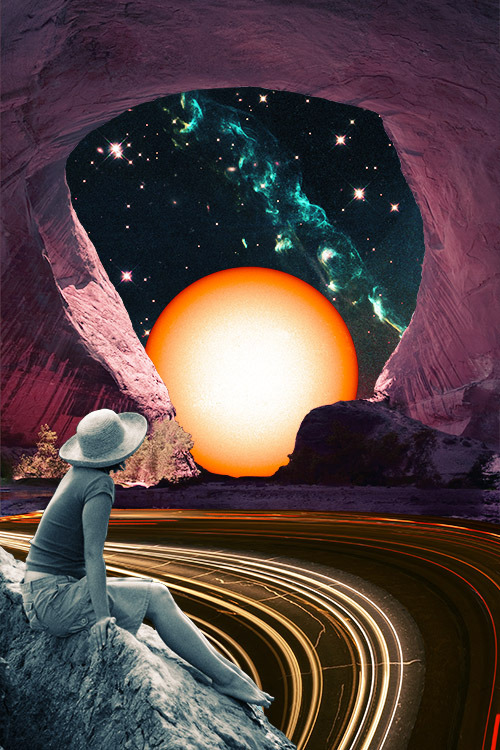 """Time Out"" by Eugenia Loli  Follow the artist: TumblR 