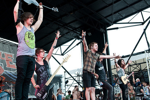 winstonfuckingmccall:  Lou, Andy, Dave, Kyle, & Josh | We Came As Romans