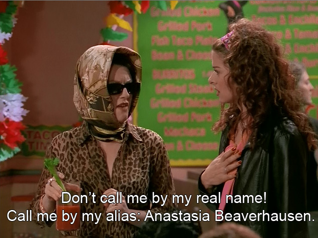 Anastasia like Russian royalty; Beaverhausen like… where the beaver live.