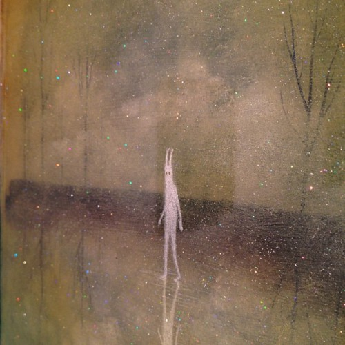 thinkspace-gallery:  Andy Kehoe 'Amongst The Ether' - on view now at Thinkspace (Taken with Instagram)