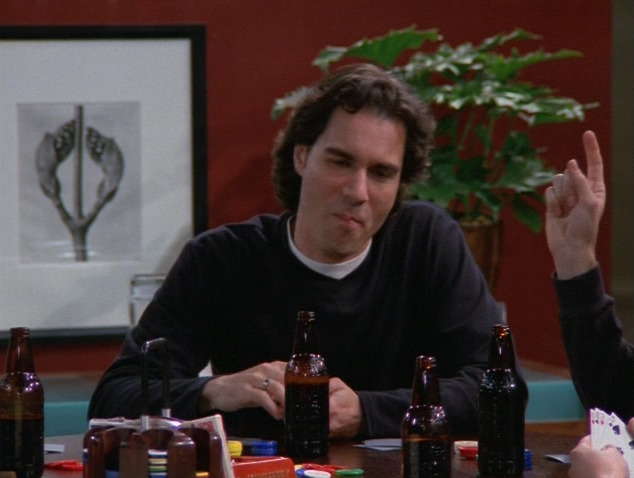 Eric McCormack's hair in the early years, though. Yikes.