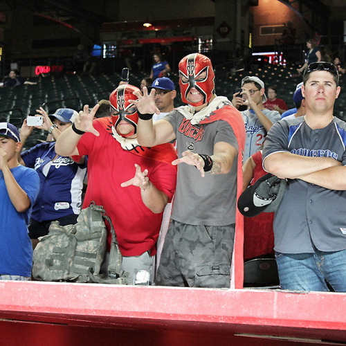 Seriously, nobody is messing with you when you wear these Lucha Libre masks.