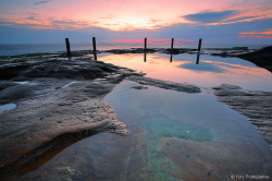 Sunrise @ South Coogee by -yury- on Flickr.