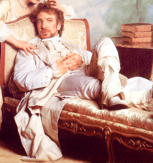 Alan Rickman as Vicomte de Valmont