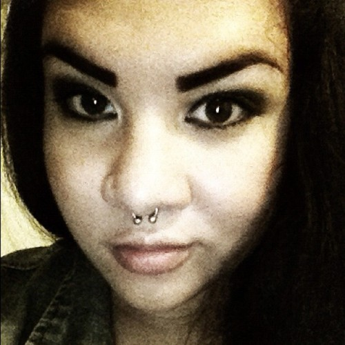 #todays #party #girl #septum  (Taken with Instagram)