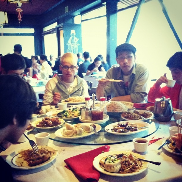 Feasting with the fam !  (Taken with Instagram)