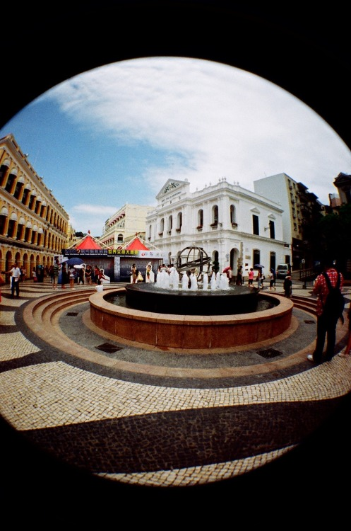 Asia in Fisheye [15]: Senado Square (議事亭前地), Macau (澳門).