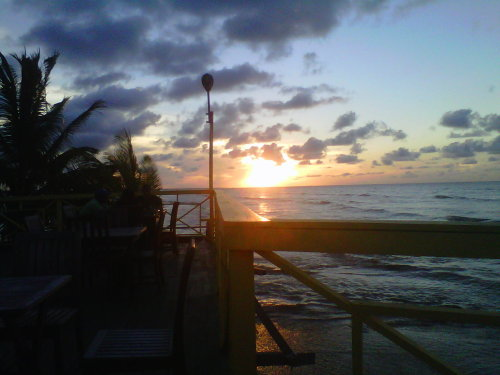 Sunset in Guyana