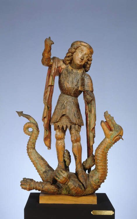 centuriespast:  St. George circa 1450 National Gallery of Slovenia, Ljubljana