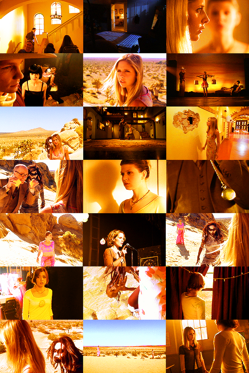 BTVS - 4.22 Restless in yellow.