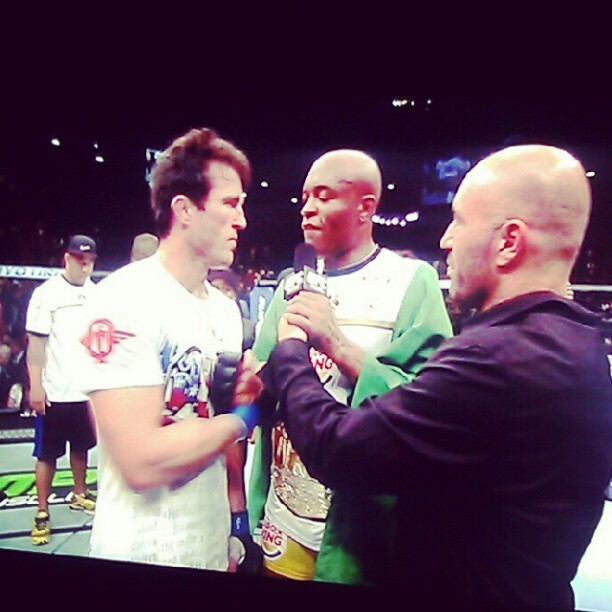 iammecca:  #OWNED #UFC148 (Taken with Instagram)  #FFFFFFudge