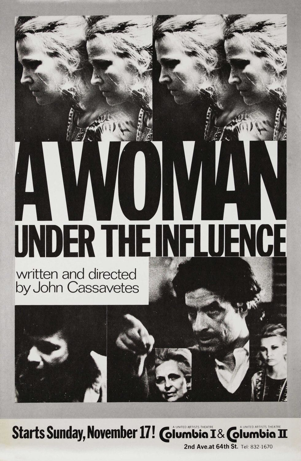 cinemagreats:  A Woman Under the Influence (1974) - Directed by John Cassavetes