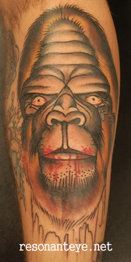 sasquatch tattoo! http://resonanteye.net